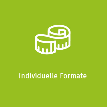 Individuelle Formate